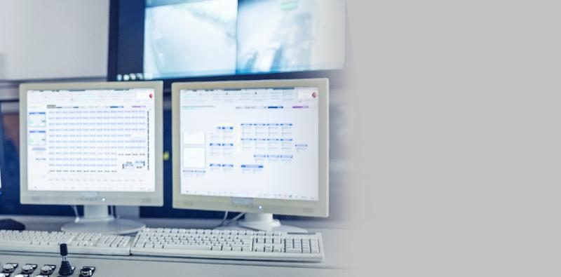 Włączone programy na monitorach LCD